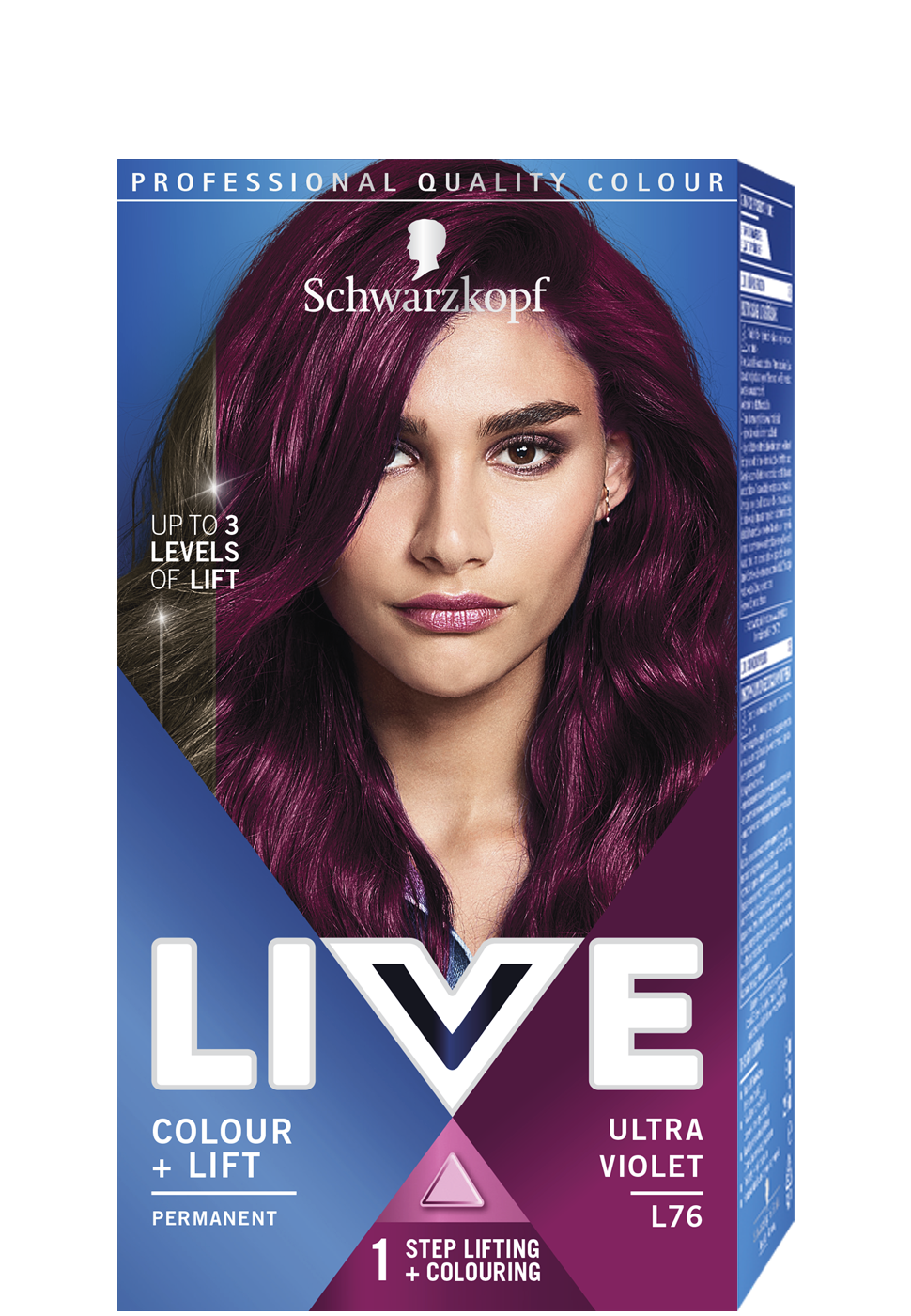 LIVE Intense Colour + Lift - L76 Ultra Ibolya