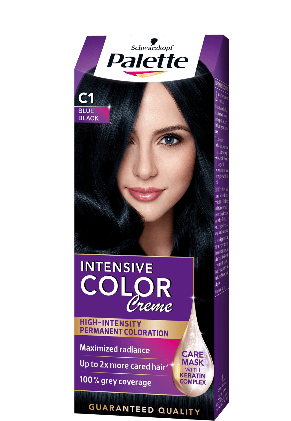 Intense Color Creme C1 - Zafírfekete