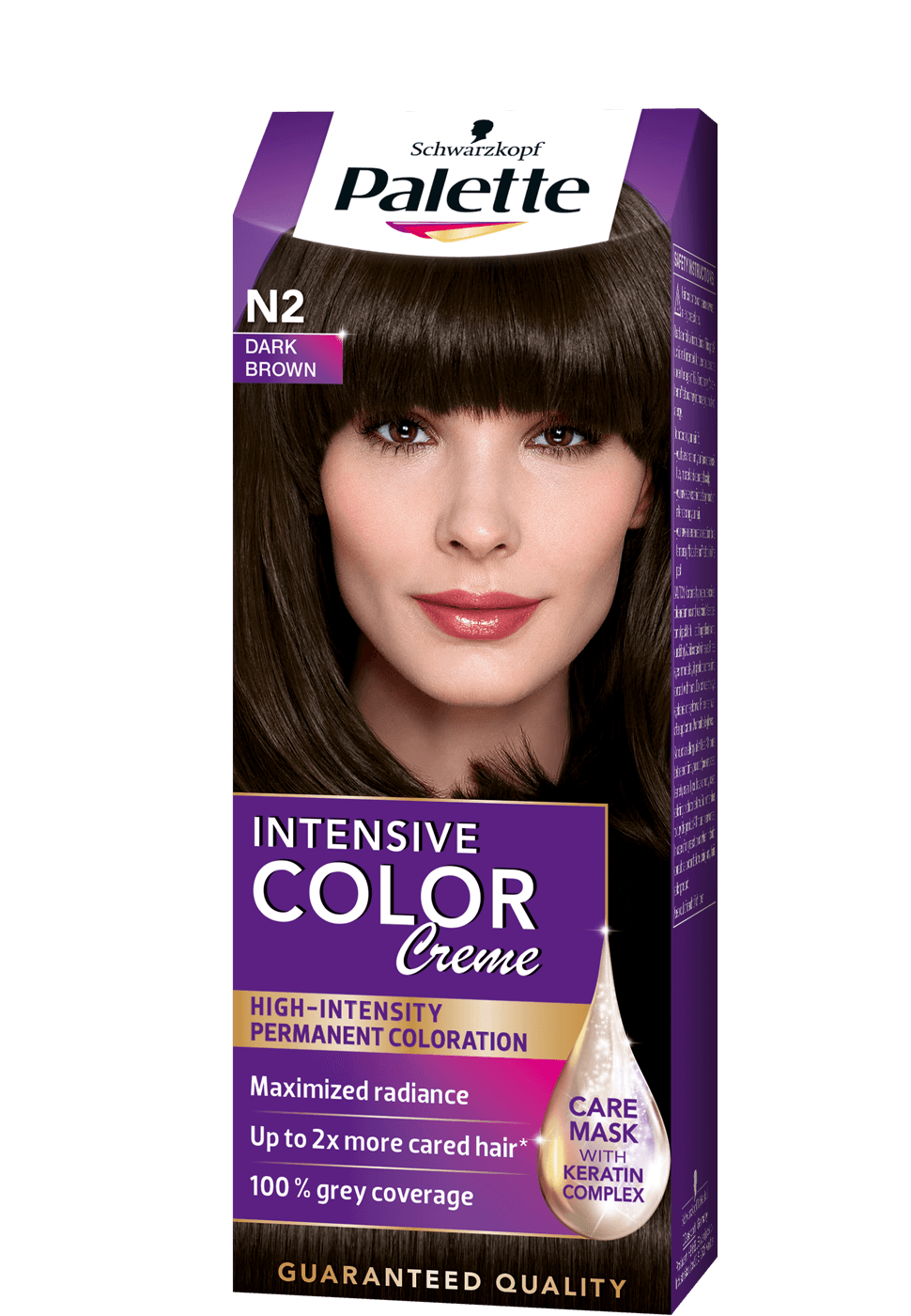 Intense Color Creme N2 - Sötétbarna