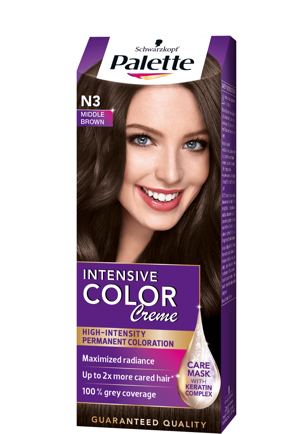 Intense Color Creme N3 - Középbarna