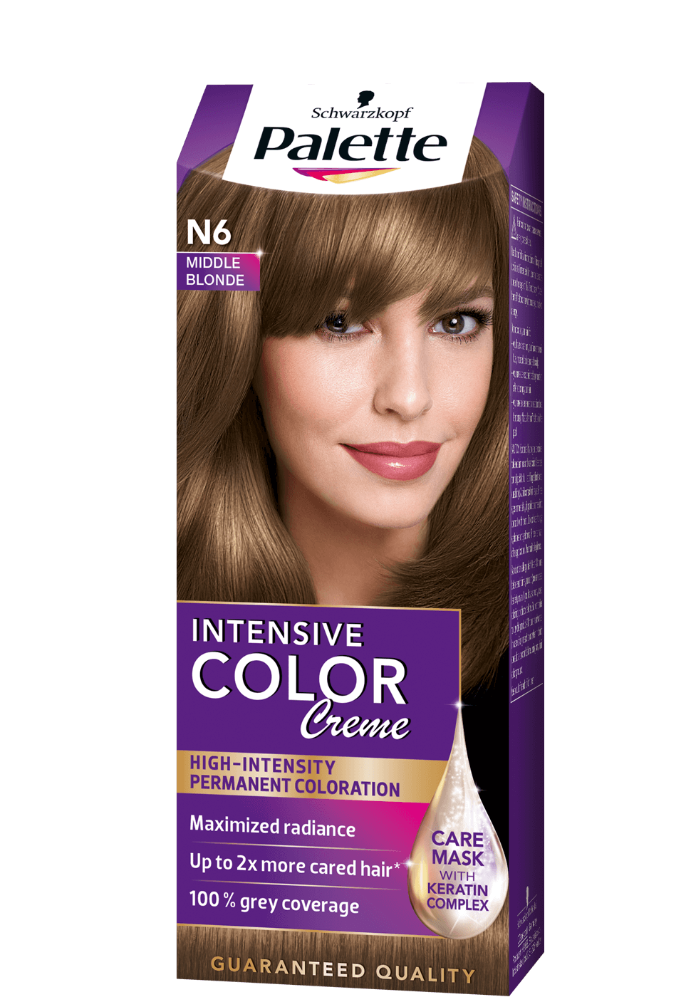 Intense Color Creme N6 - Középszőke