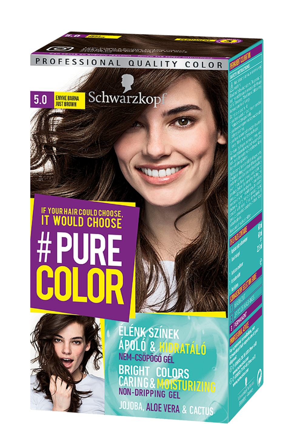 Pure Color - 5.0 Enyhe barna